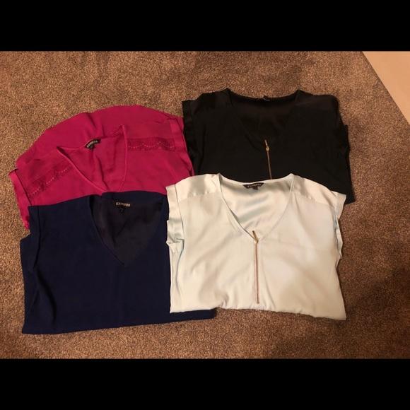 Express Tops - Bundle of express blouses